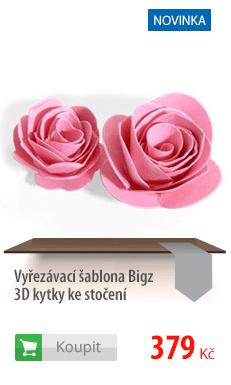 Vyřezávací šablona Bigz 3D květiny