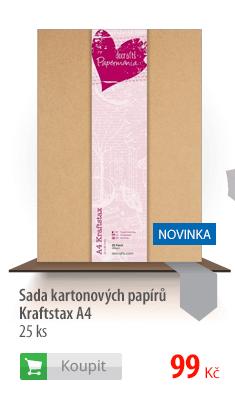 Kartonové papíry Kraftstax A4