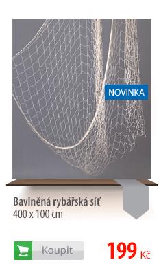 Bavlněná rybářská síť