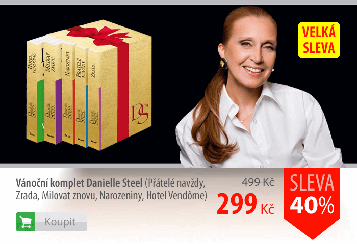 Danielle Steel komplet knih