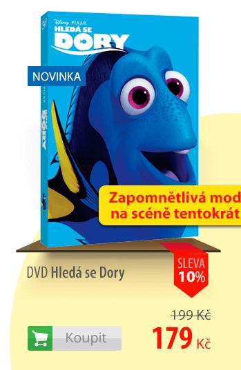 DVD Hledá se Dory