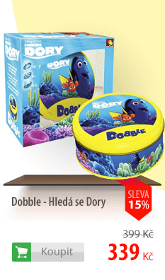 Dobble Hledá se Dory
