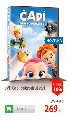 DVD čapí dobrodružství