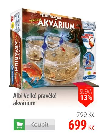 Velké pravěké akvárium Albi