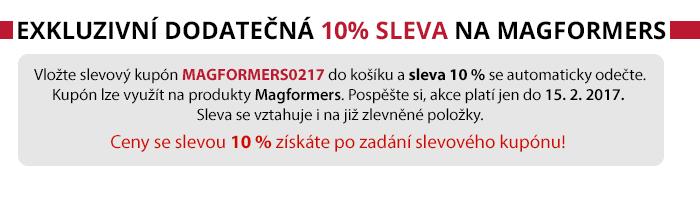 10% sleva na Magformers
