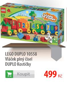LEGO Duplo Vláček plný čísel