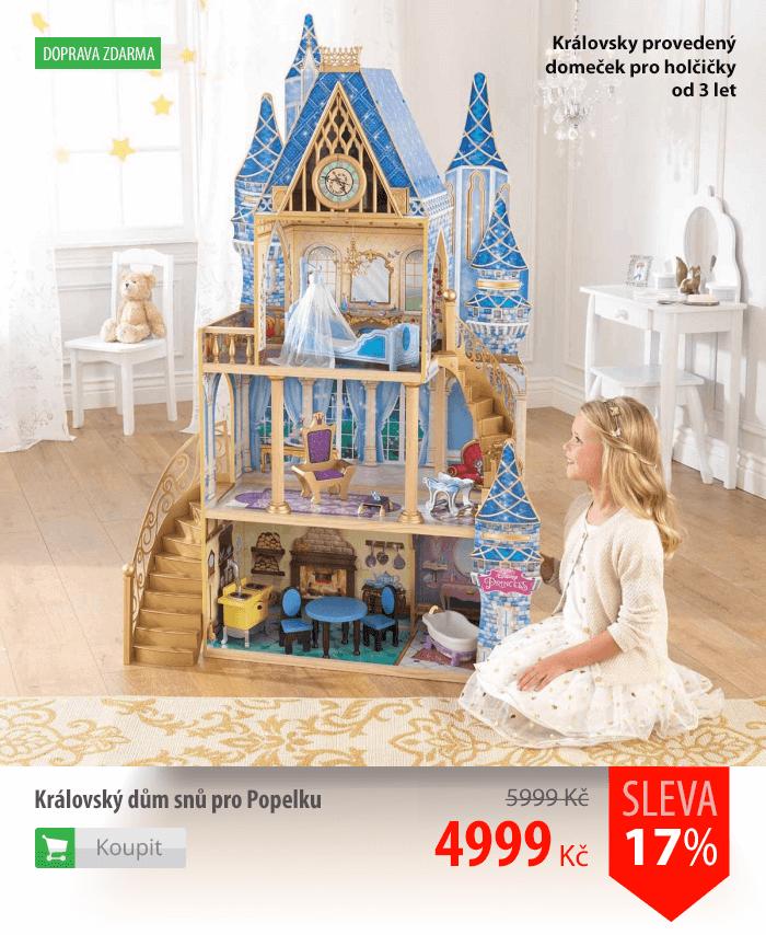 Královský dům snů pro Popelku