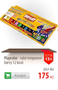 Playcolor tuhé temperové barvy