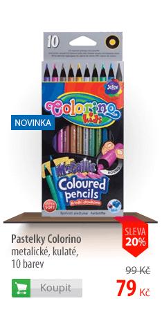 Pastelky Colorino metalické