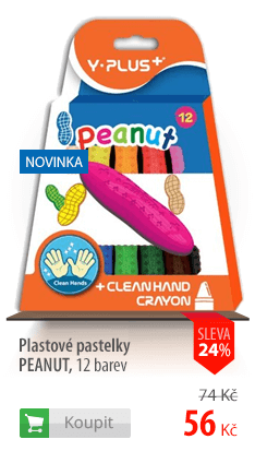 Plastové pastelky Y-Plus Peanut