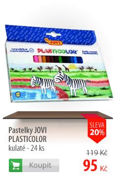 Pastelky JOVI Plasticolor