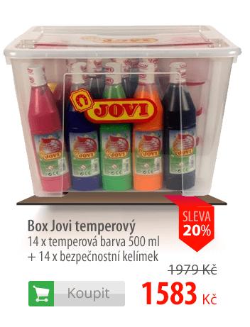Box temperových barev JOVI