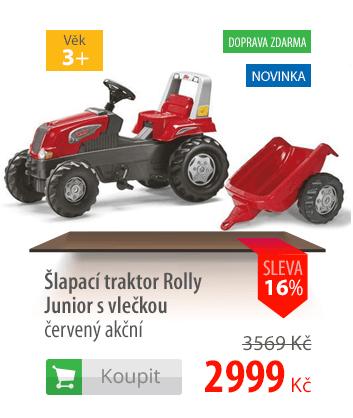 Šlapací traktor Rolly Junior