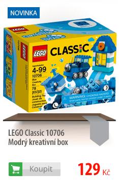 LEGO Classic Modrý kreativní box