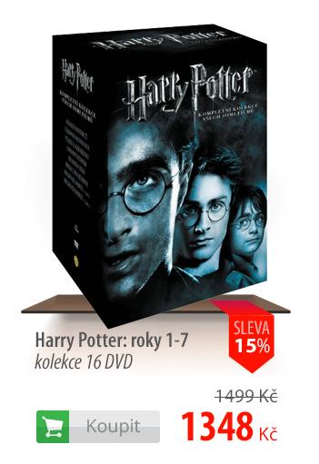 Harry Potter kolekce DVD