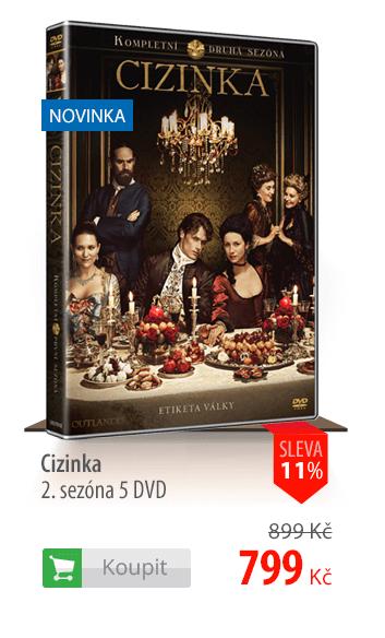 Cizinka 2. sezóna DVD