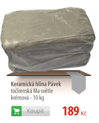 Keramická hlína Pávek
