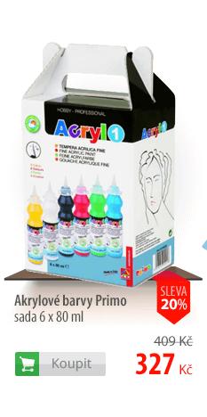 Akrylové barvy Primo