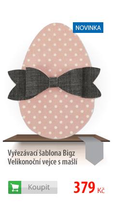 Vyřezávací šablona Bigz Velikonoční vejce