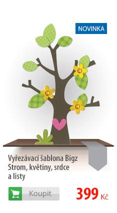 Vyřezávací šablona Bigz Strom