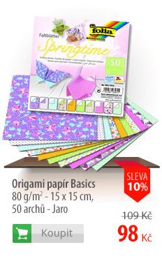Origami papír Basics