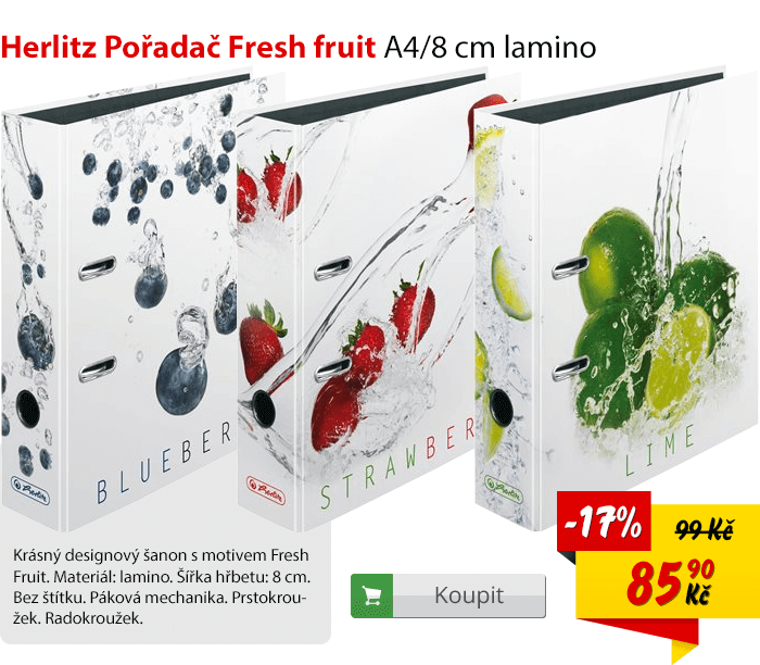 Herlitz pořadač Fresh fruit