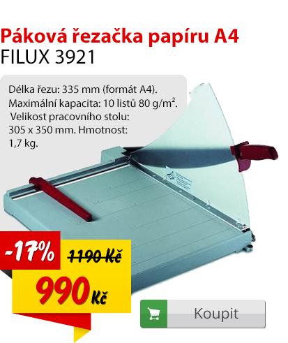 Páková řezačka papíru A4 Filux 3921