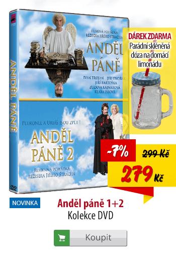 DVD Anděl páně 1 a 2