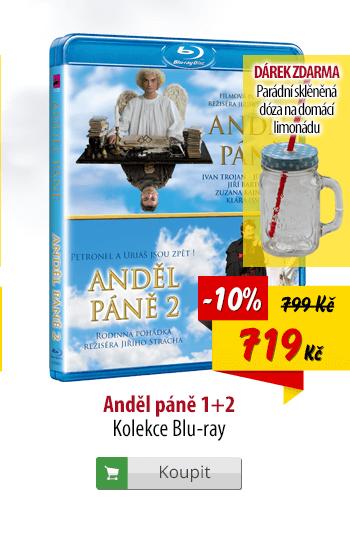 Blu-ray Anděl páně 1 a 2