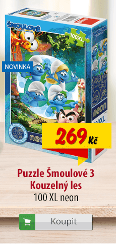 Šmoulové Kouzelný les puzzle