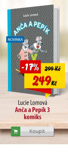 Anča a Pepík 3 komiks