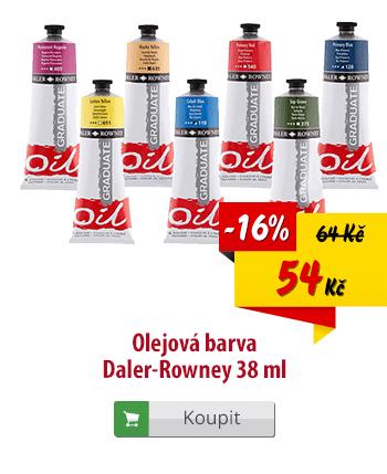 Olejová barva Daler-Rowney
