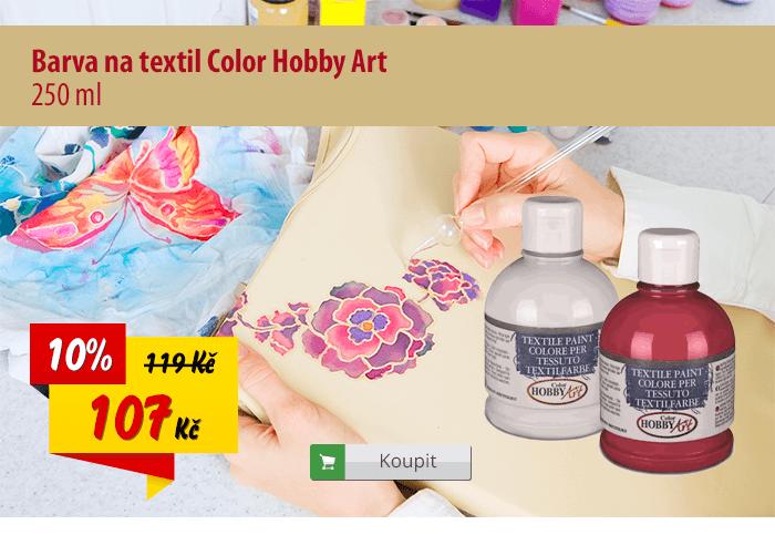 Barva na textil Color Hobby Art