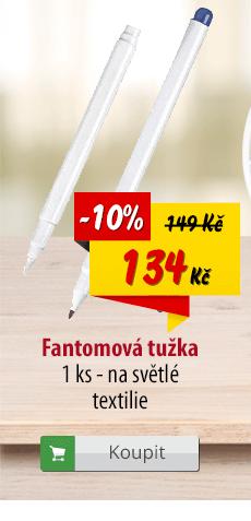 Fantomová tužka na textil