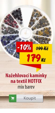 Nažehlovací kamínky na textil Hotfix