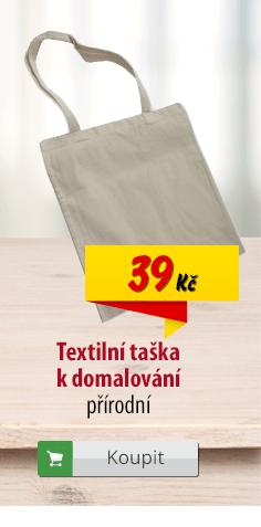 Textilní taška na malování