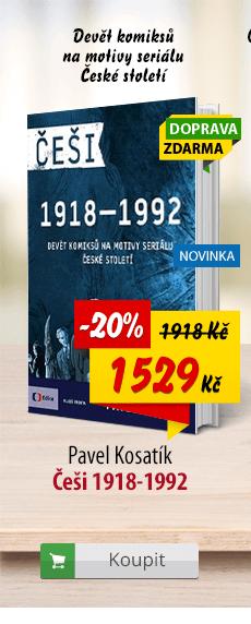 Češi 1918-1992 komiks