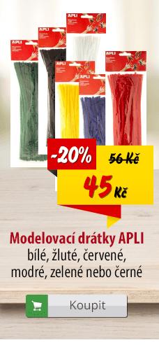 Modelovací drátky APLI
