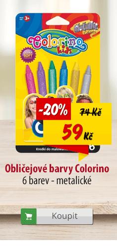 Barvy na obličej COLORINO
