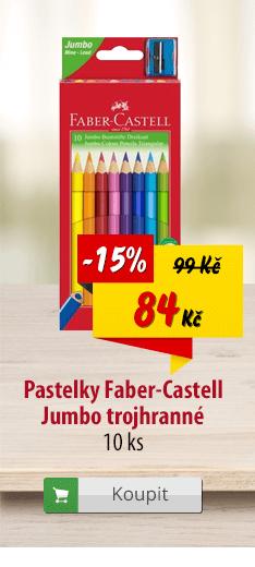 Pastelky Faber-Castell Jumbo