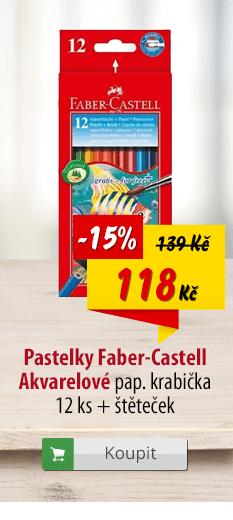 Pastelky Faber-Castell Akvarelové