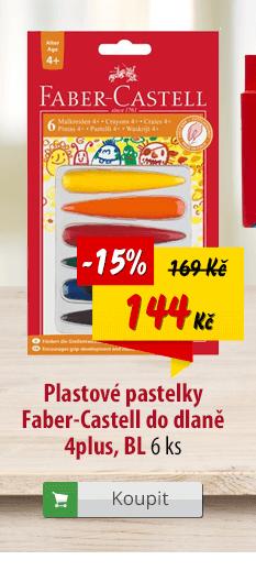 Plastové pastelky Faber-Castell