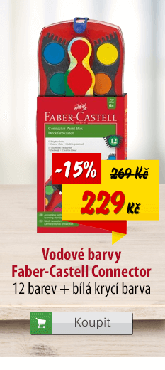 Vodové barvy Faber-Castell Connector
