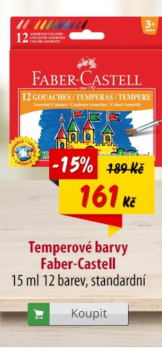 Temperové barvy Faber-Castell