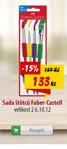 Sada štětců Faber-Castell