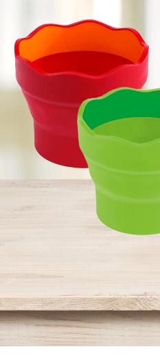 Kelímek na vodu Faber-Castell Clic & Go