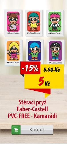 Guma Faber-Castell PVC-FREE Kamarádi