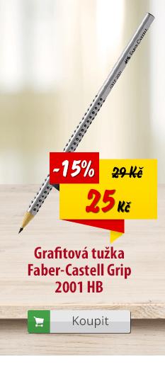 Grafitová tužka Faber-Castell Grip 2001