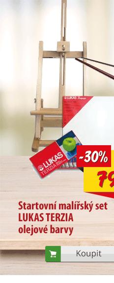 Malířská sada Lukas Terzia olejové barvy