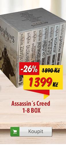 Assassin's Creed komplet knih